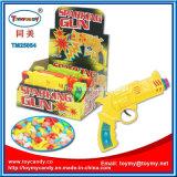 Красивейшее смешивание цвета 3 искрясь пушка игрушки пушки с конфетой