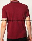 Рубашка пола Hotsale хлопка людей приспособленная способом изготовленный на заказ