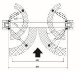 Elevador de Hydrulic do equipamento de levantamento da grua do carro de 2 colunas (AAE-TPC240)