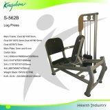 La strumentazione di forma fisica/macchina di concentrazione/strumentazione di ginnastica/hanno messo la pressa a sedere del piedino