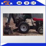 セリウムが付いている専用後部トラクターの掘削機
