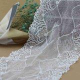 GarmentおよびBraのためのかぎ針編みSpandex Jacquard Lace Trims