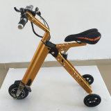 卸し売り折りたたみのスマートなバイクの3つの車輪が付いている電気極度の軽合金のEスクーター