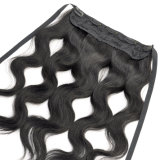 Hair에 있는 Fastening Strap Clip를 가진 바디 Wave Lace Frontal Human Remy Hair Straight