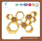 Caso de indicador moderno de madeira do favo de mel