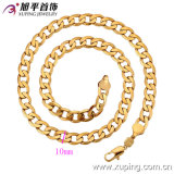 Collar Xuping de los hombres Gold-Plated especiales al por mayor del precio 18k de China