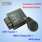 Bluetooth Canbus OBDの追跡者は、燃料消費料量を、促進したり、反不正変更する注意深く、自由なAPP Tk228-Ezを検出する