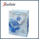 Подгоняйте мешок подарка руки упаковки рождества яркия блеска бумаги с покрытием бумажный