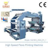 Farbe Flexo Drucken-Maschine der Geschwindigkeit-6 für nichtgewebtes Gewebe