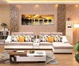 Silla de sofá real de muebles
