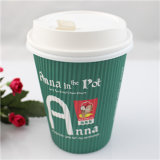 Progettare Disposable per il cliente Coffee Takeaway Paper Cups con Lid