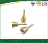 Часть металла части ручки обслуживания CNC точности подвергая механической обработке изготовленный на заказ алюминиевая