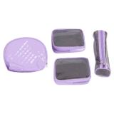 Wasserdichter transparenter Belüftung-Kosmetik-Beutel