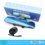 LCD Monitor, 170 Degree, Xy 9045 Car Rearview Mirror Camera DVR건축하 에서를 가진 4.3 인치 DVR