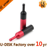USB rosso Flash Drive di Wine Bottle come Winery Promotion Gifts (YT-1216-02)