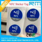 Passif réinscriptible Ntag213, Ntag215, collant d'IDENTIFICATION RF de Ntag216 NFC