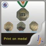 Medalla corriente 2016 del oro antiguo del recuerdo