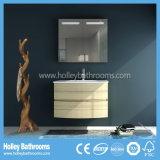 L'atmosphère en bois d'élément incurvée par forces de défense principale de Module de salle de bains de commutateur de contact de DEL (PF129c)