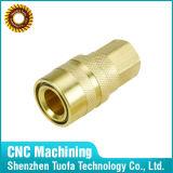 油圧ホースフィッティングを機械で造る顧客用精密CNC