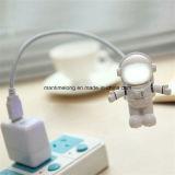 Luz ajustable de la noche del USB LED del astronauta del astronauta