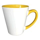tazas de cerámica de 12oz Latte con color interno de Mejosub