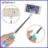 Bâton portatif pliable en gros de Selfie de câble