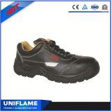 Chaussures de sûreté modèles fondamentales de chaussures de sûreté de cuir du Mens Ufa030