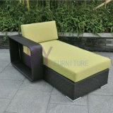 Insieme di vimini del sofà del patio di svago del rattan dell'interno ed esterno del PE