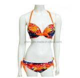 Frauen-Badebekleidungs-reizvoller Bikini mit niedrigem MOQ