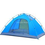 2人のテント、二重層のキャンプテント(アルミニウムポーランド人)