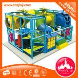 Cour de jeu d'intérieur d'enfants de château vilain en plastique de jouet