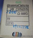 CFR1/4W el 5% 100 resistores de película del carbón del ohmio