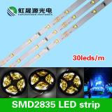 SMD2835 LED는 고품질에 방수 30LEDs/M를 분리한다