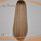 Parrucca superiore di seta bionda dei capelli umani