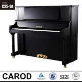 Piano droit Polished noir 125cm