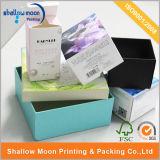 Rectángulo de papel externo cosmético de embalaje del OEM (QYZ031)