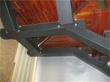 Hecho en escalera del acero de madera sólida de la protección del medio ambiente de China