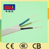 PVC Insulated와 Sheathed Solid Flat Electric Wire 3X2.5mm2 Ydyp Cable