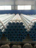Tubulação galvanizada alta qualidade do ferro com tampões plásticos