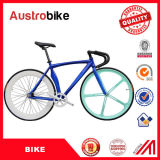 Fahrrad-örtlich festgelegtes Fahrrad der Straßen-700c Stahllegierungs-weißer Farben-örtlich festgelegter Gang-Fahrrad-Aluminiumrahmen-weißes gelbes der Farben-26inch billig für Verkauf