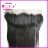 Neues Popular Style Real Unprocessed Virgin Hair Straight Ear zu Ear Lace Frontals mit Baby Hair