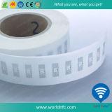 Tag passivo da freqüência ultraelevada RFID do adesivo do estrangeiro H3 de ISO18000-6c