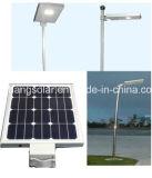 Luz de rua solar integrada alta qualidade do diodo emissor de luz 2016 50W com bateria e o painel solar (JINSHANG SOLARES)