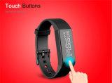 Wristband en tiempo real de la aptitud de Bluetooth del sensor del ritmo cardíaco