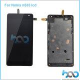 Het mobiele Scherm LCD van de Aanraking van de Telefoon voor de Assemblage van de Vertoning van Nokia N535