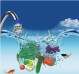 Utilisation d'épurateur de robinet d'eau de charbon actif pour le robinet de cuisine