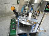 Máquina plástica automática del lacre de la bandeja del rectángulo del alimento