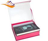 Venta al por mayor magnética impresa lujo del rectángulo de papel del regalo de la cartulina de la laminación