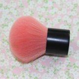 単一アルミニウム管のピンクのナイロンヘア・ブラシはブラシブラシの粉の赤面する