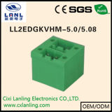 Pluggable разъем PCB терминальных блоков Ll2edgkvhm-5.0/5.08